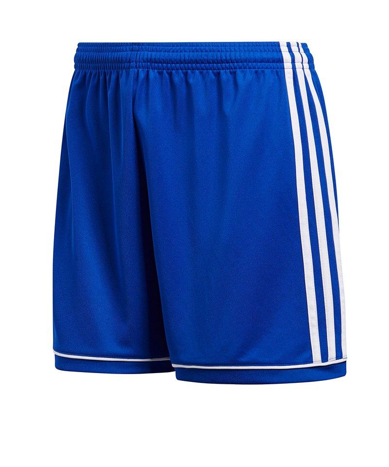 adidas Squadra 17 Short o. Innenslip Damen Blau - blau