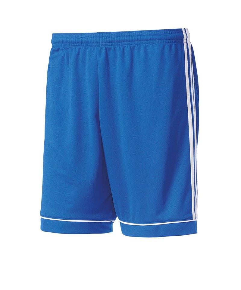 adidas Short Squadra 17 ohne Innenslip Blau - blau