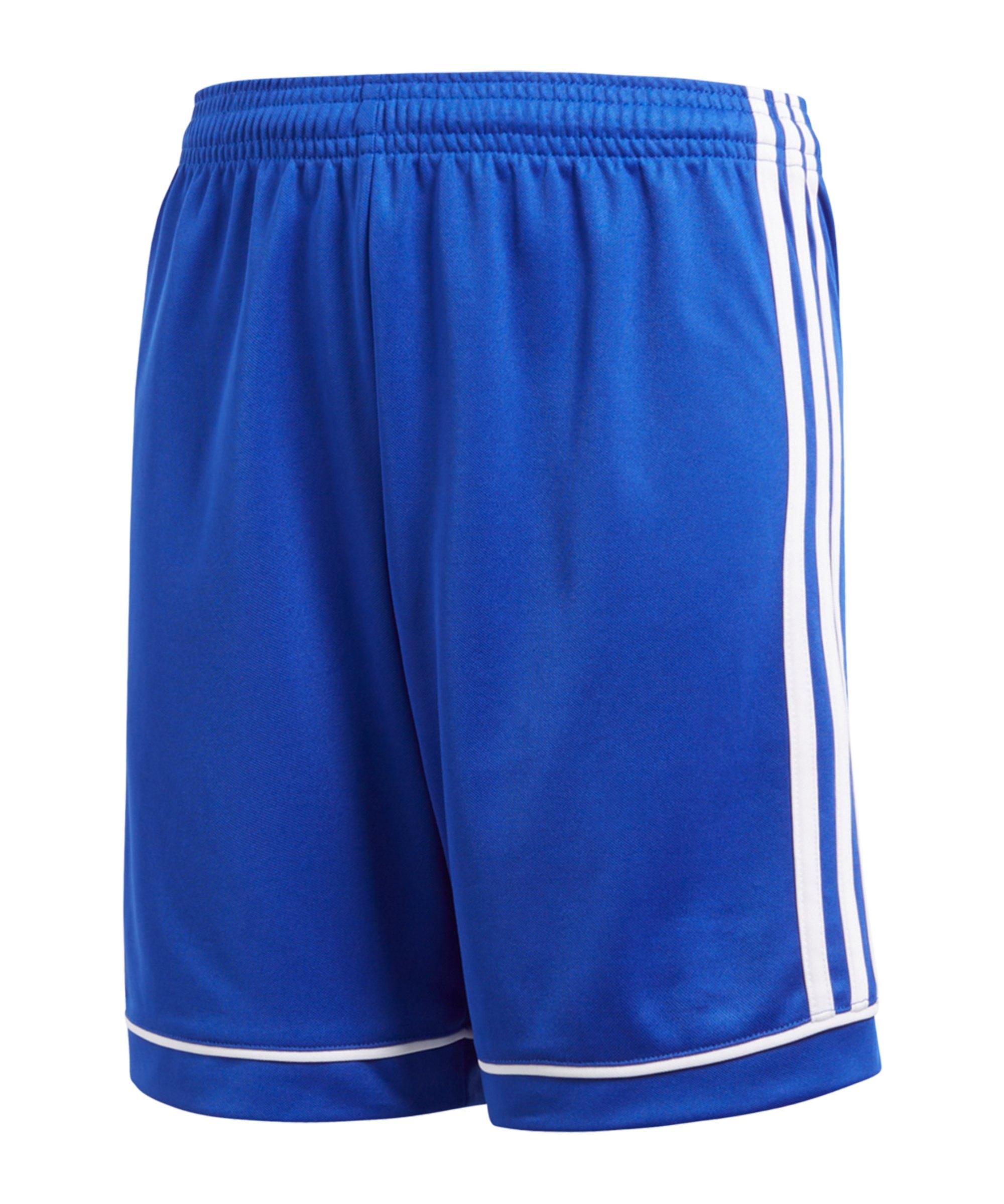 adidas Squadra 17 Short Kids Blau Weiss - blau