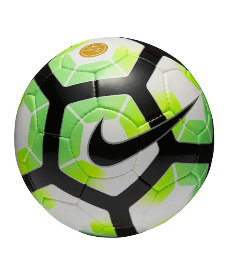 Nike Fussball Premier Team FIFA Weiss Silber F100 - weiss