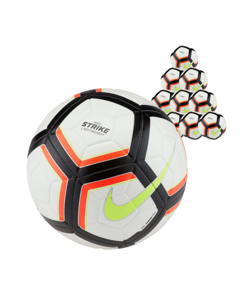 Nike Team Strike Football 10xFußball Weiss F100 - weiss