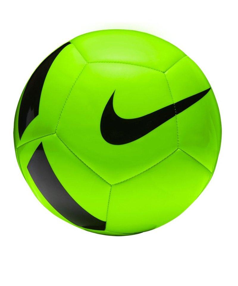 Nike Fussball Pitch Team Football Grün F336 - gruen