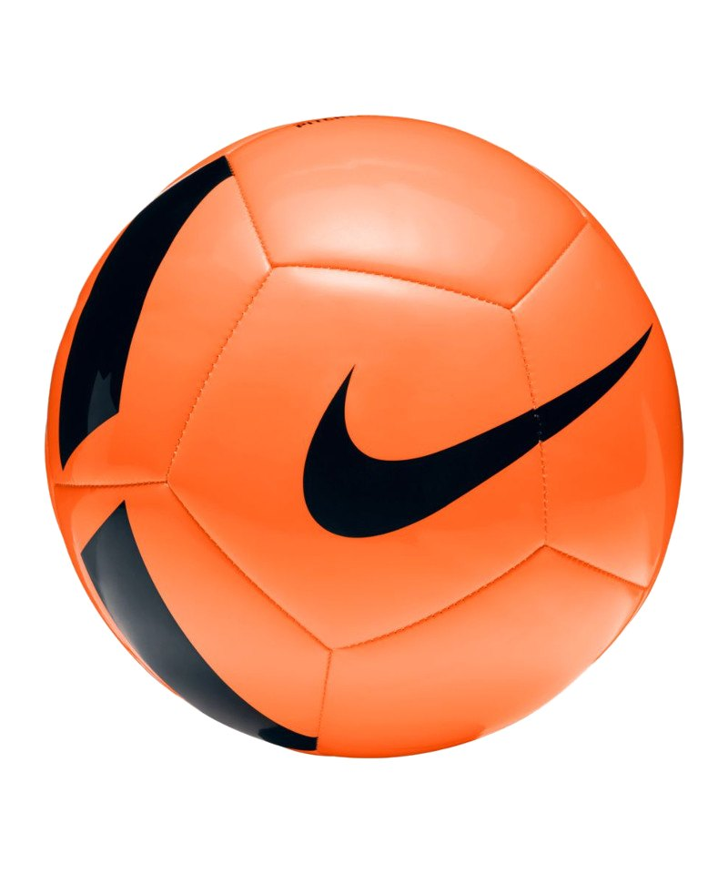 Nike Fussball Pitch Team Football Orange F803 - orange