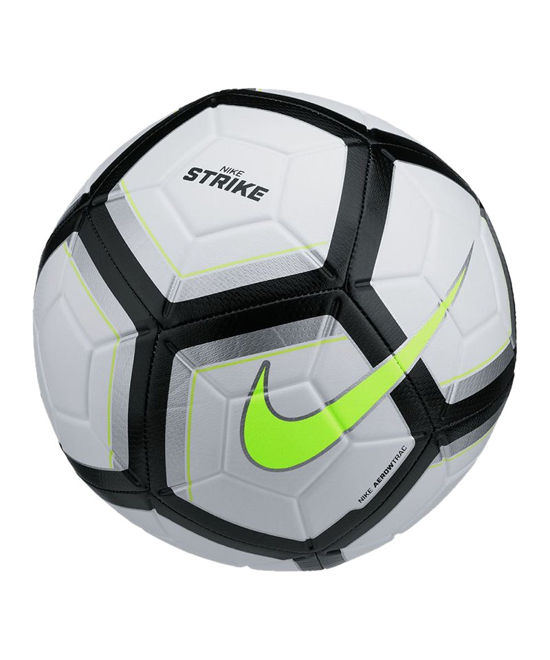Nike Fussball Team Strike Football Silber F102 - silber