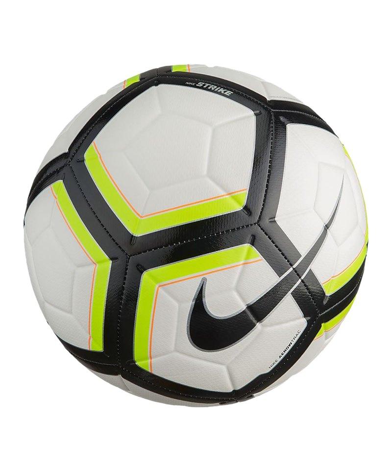 Nike Fussball Team Strike Football Weiss Gelb F100 - weiss