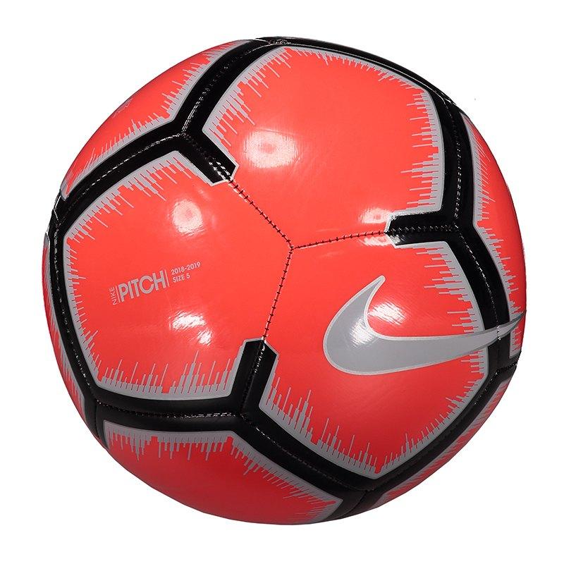 Nike Pitch Trainingsball Rot Grau F671 - rot
