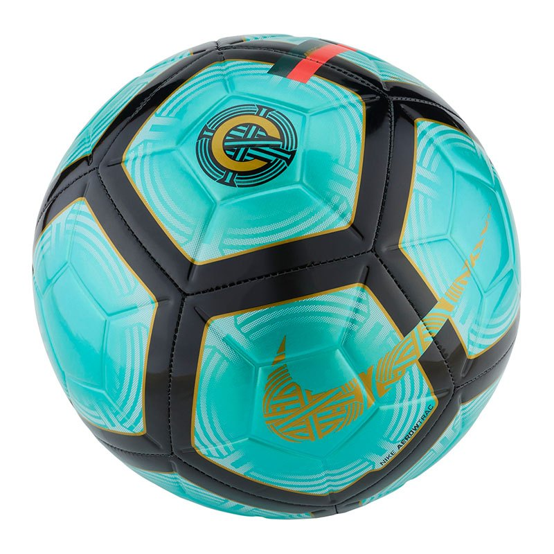 Nike CR7 Strike Fussball Grün F321 - gruen