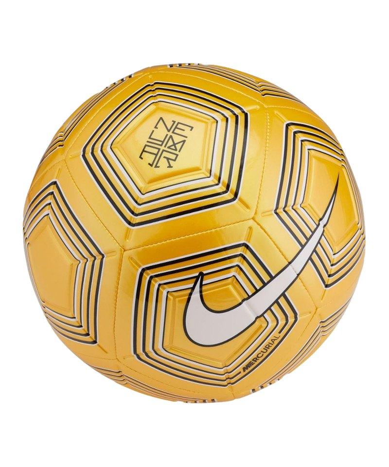 Nike Neymar Strike Trainingsball Gelb Weiss F728 - gelb