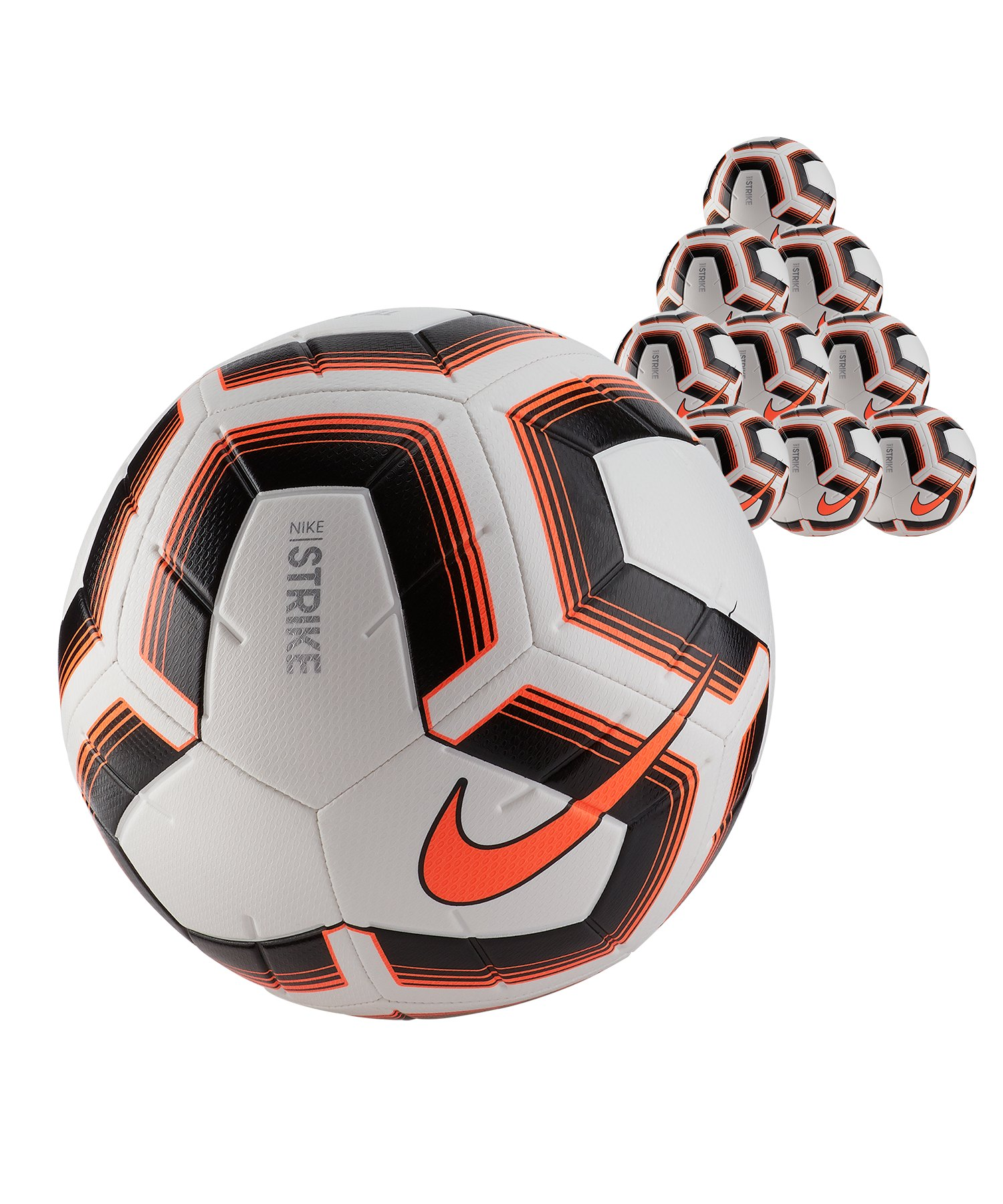 Nike Strike Team 10x Trainingsball Gr.5 Weiss F101 - weiss