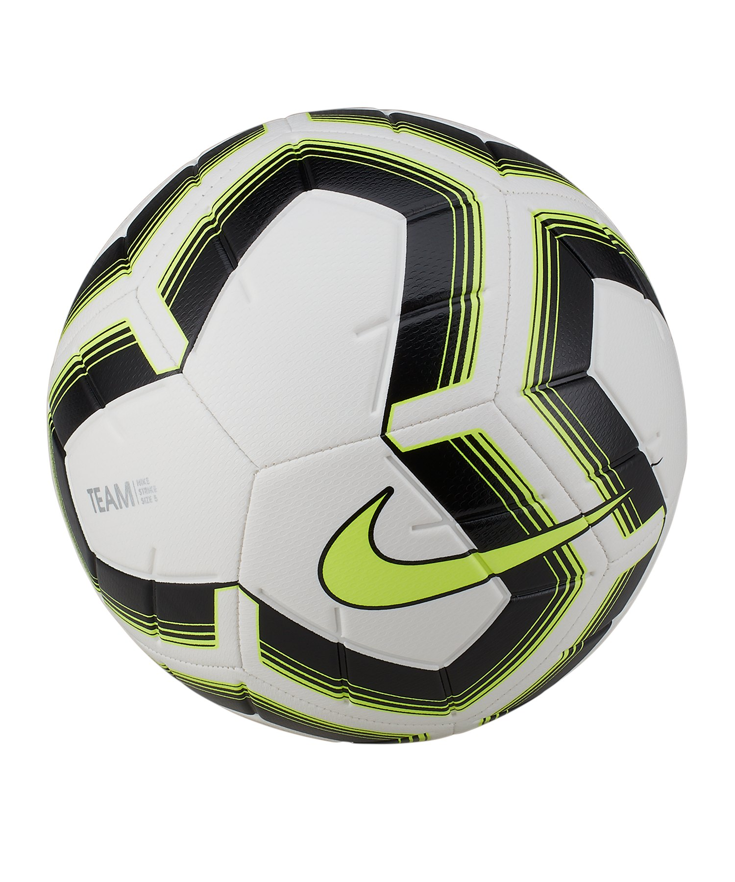 Nike Strike Team Trainingsball Weiss F102 - weiss