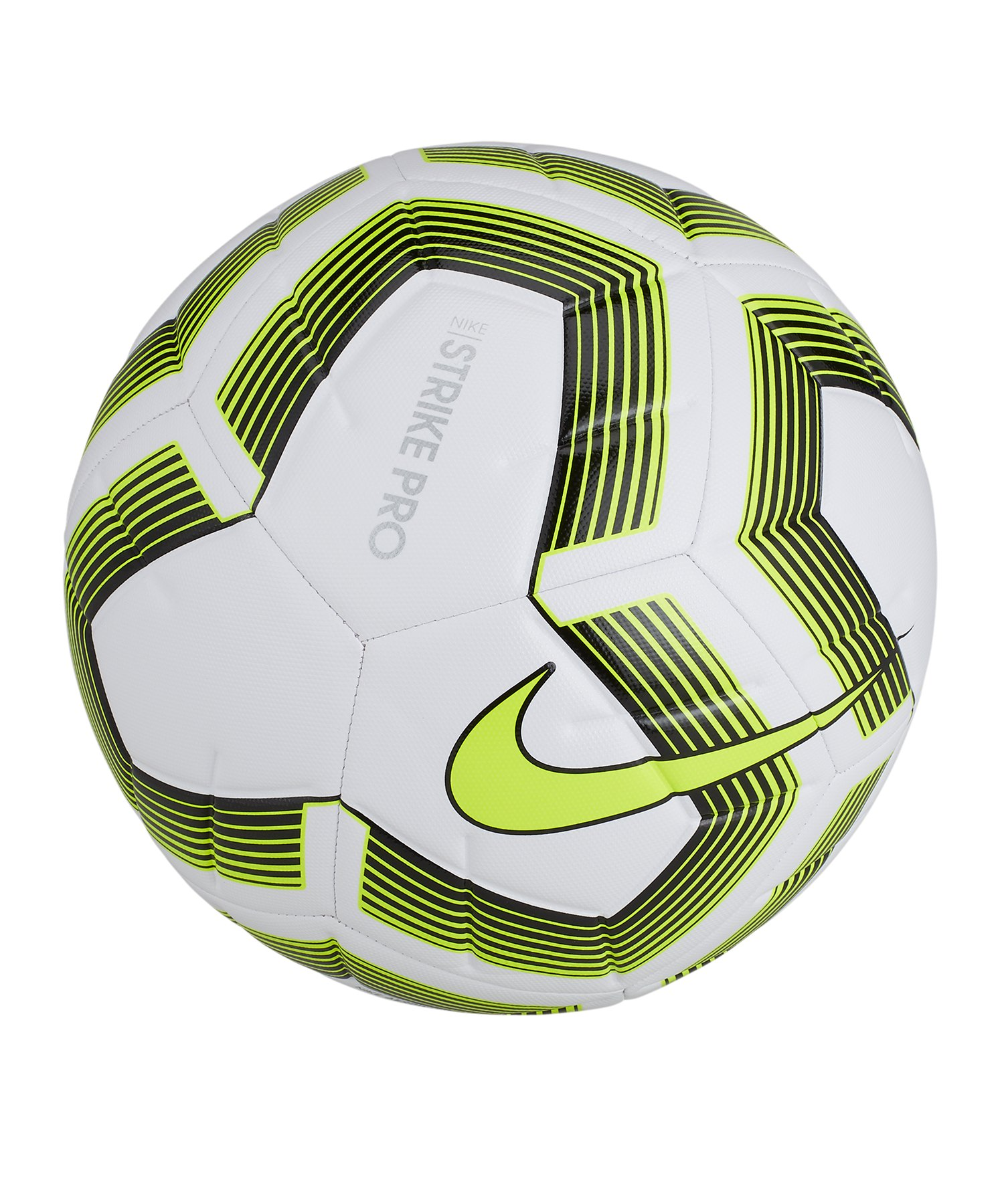 Nike Strike Pro Team Trainingsball Weiss F100 - weiss