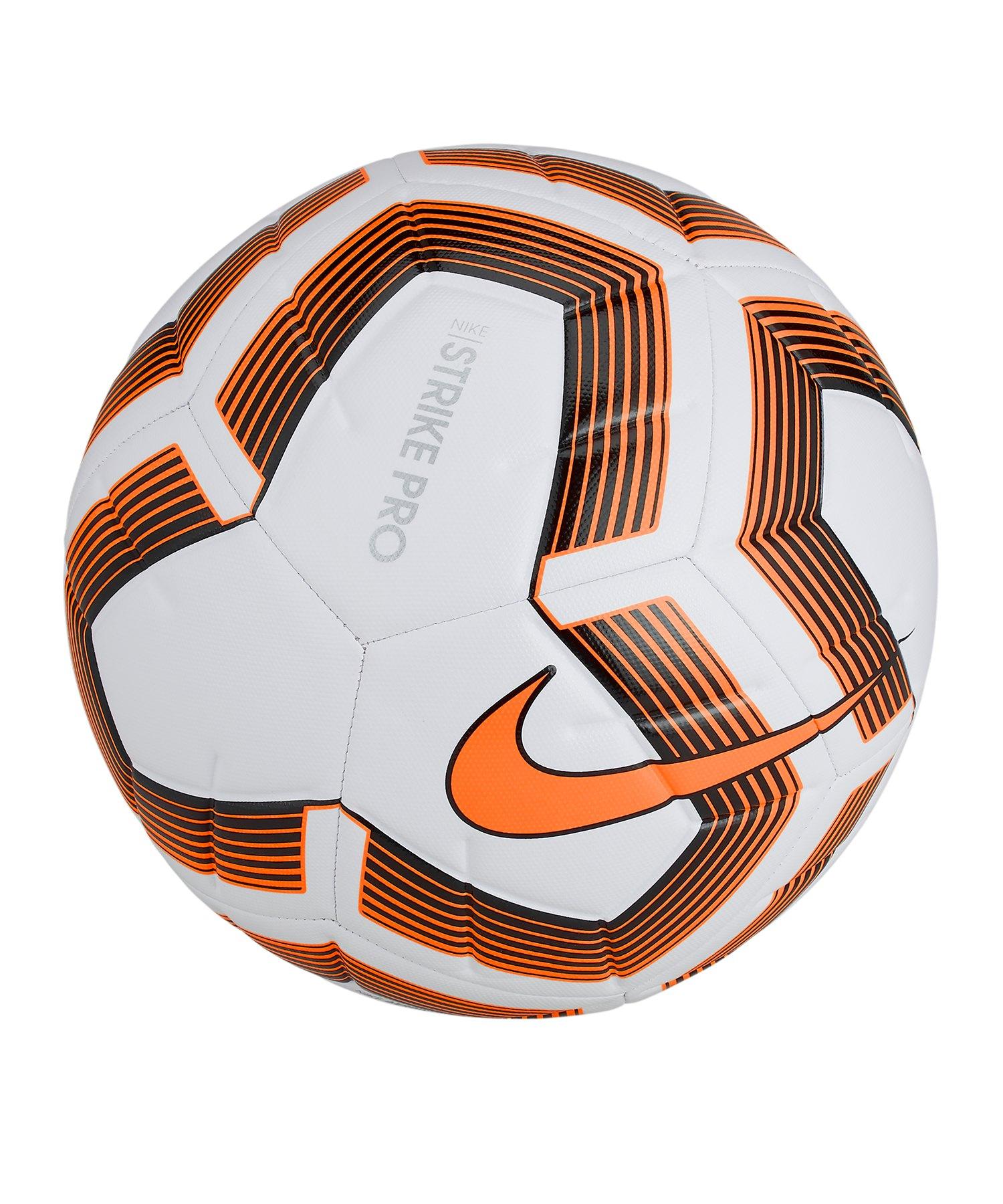 Nike Strike Pro Team Trainingsball Weiss F101 - weiss