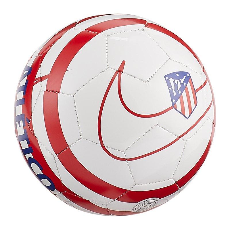 Nike Atletico Madrid Skills Miniball Weiss F100 - weiss