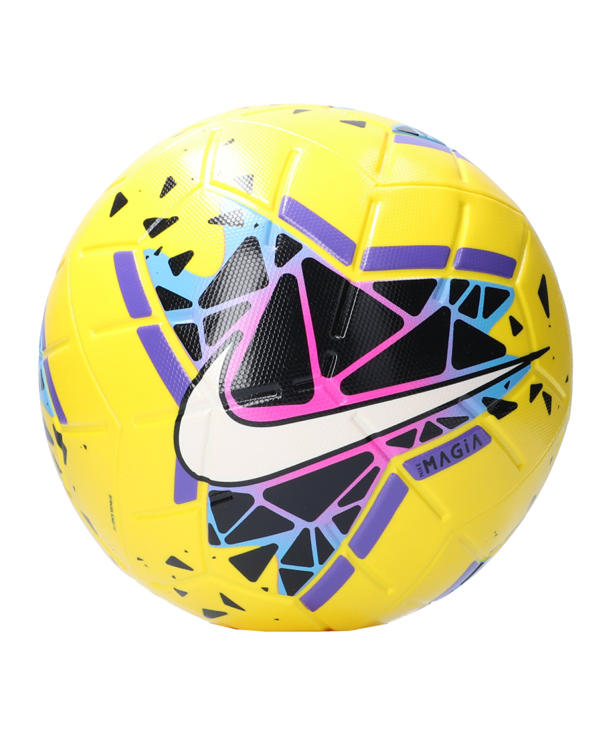 Nike Magia Fussball Weiss F710 - gelb