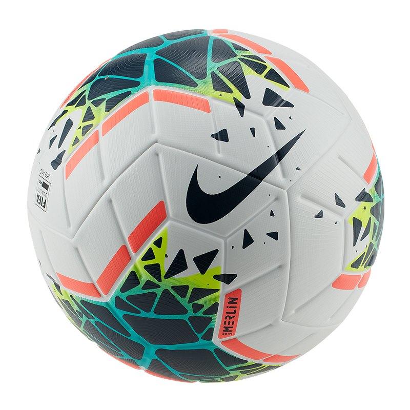 Nike Merlin FA19 Spielball Weiss F100 - weiss