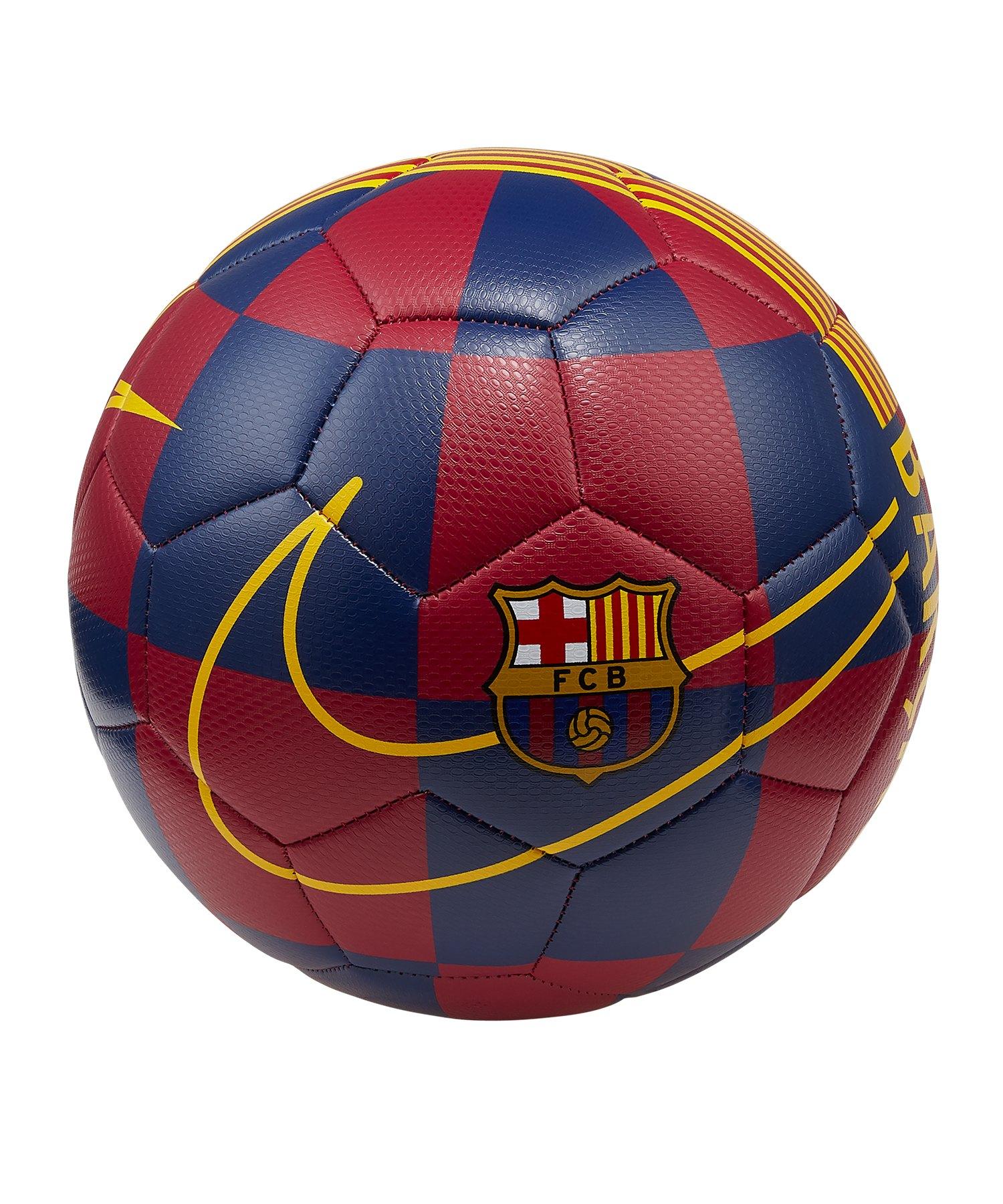 Nike FC Barcelona Trainingsball Blau F455 - blau