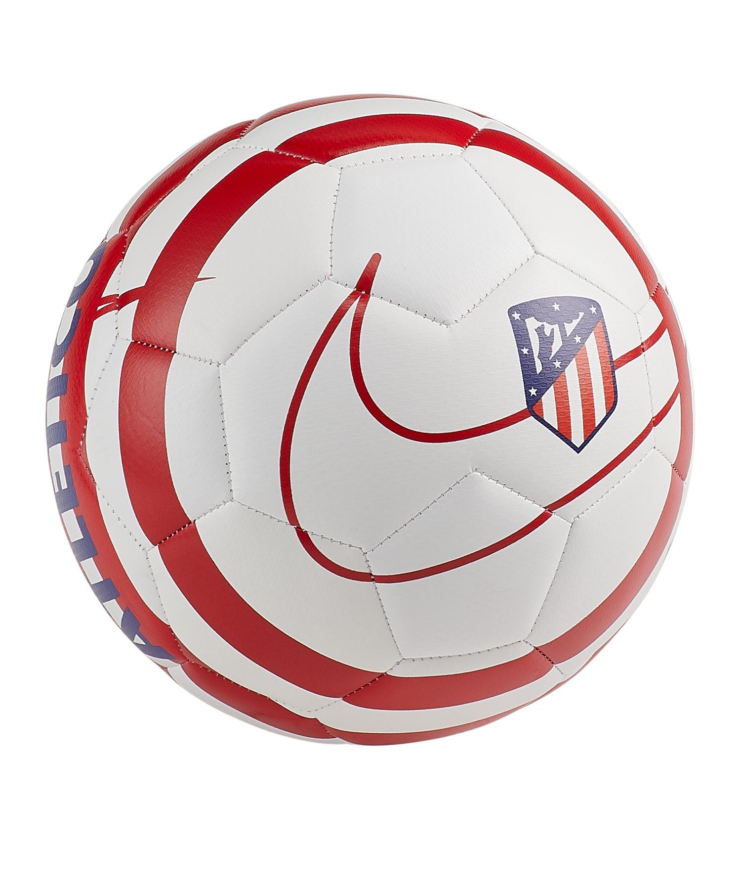 Nike Atletico Madrid Trainingsball Weiss F100 - weiss