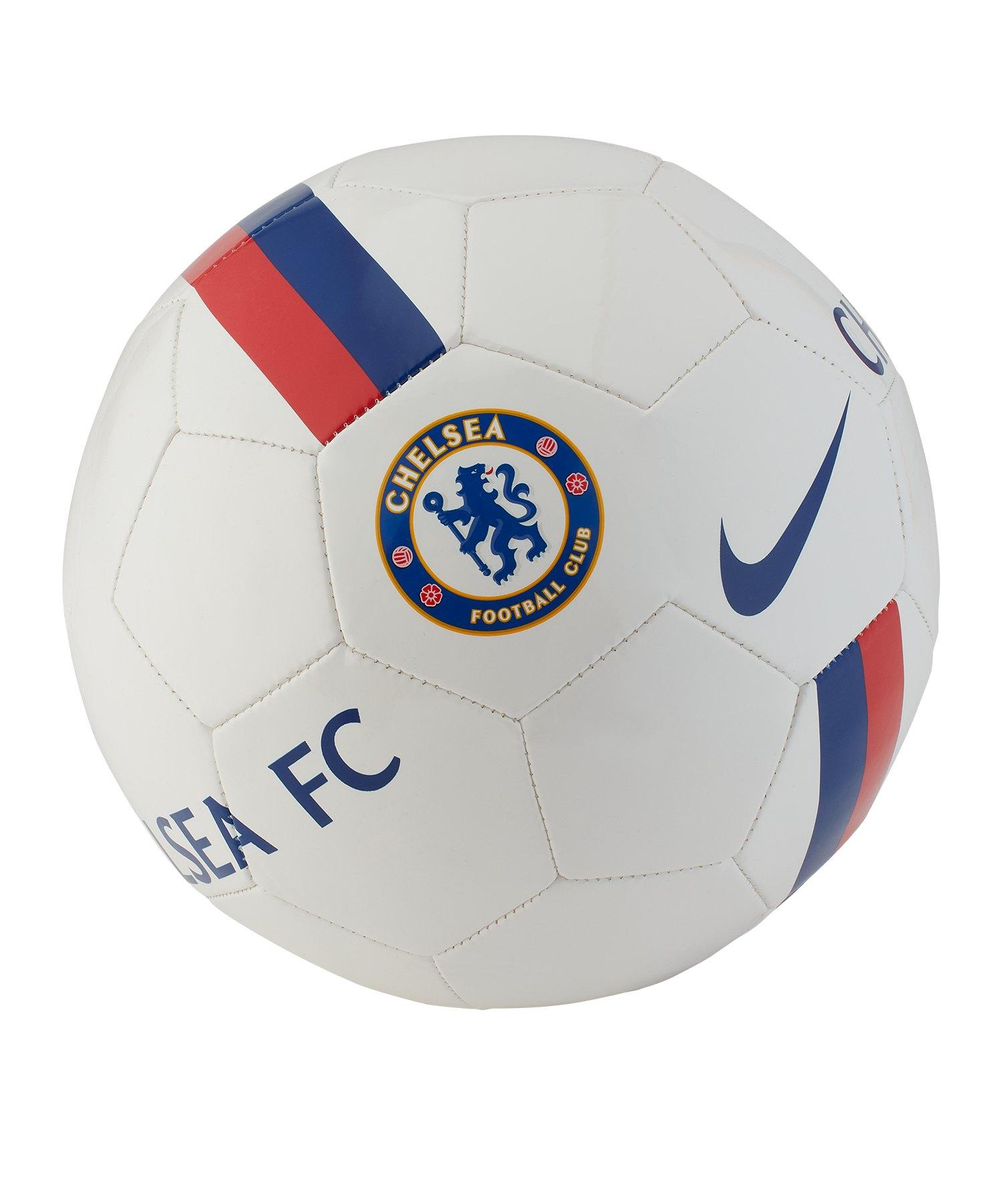 Nike FC Chelsea London Trainingsball Weiss F100 - weiss