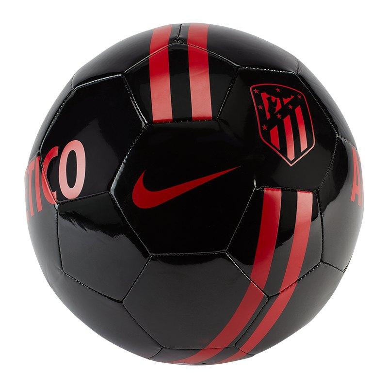 Nike Atletico Madrid Trainingsball Schwarz F010 - schwarz