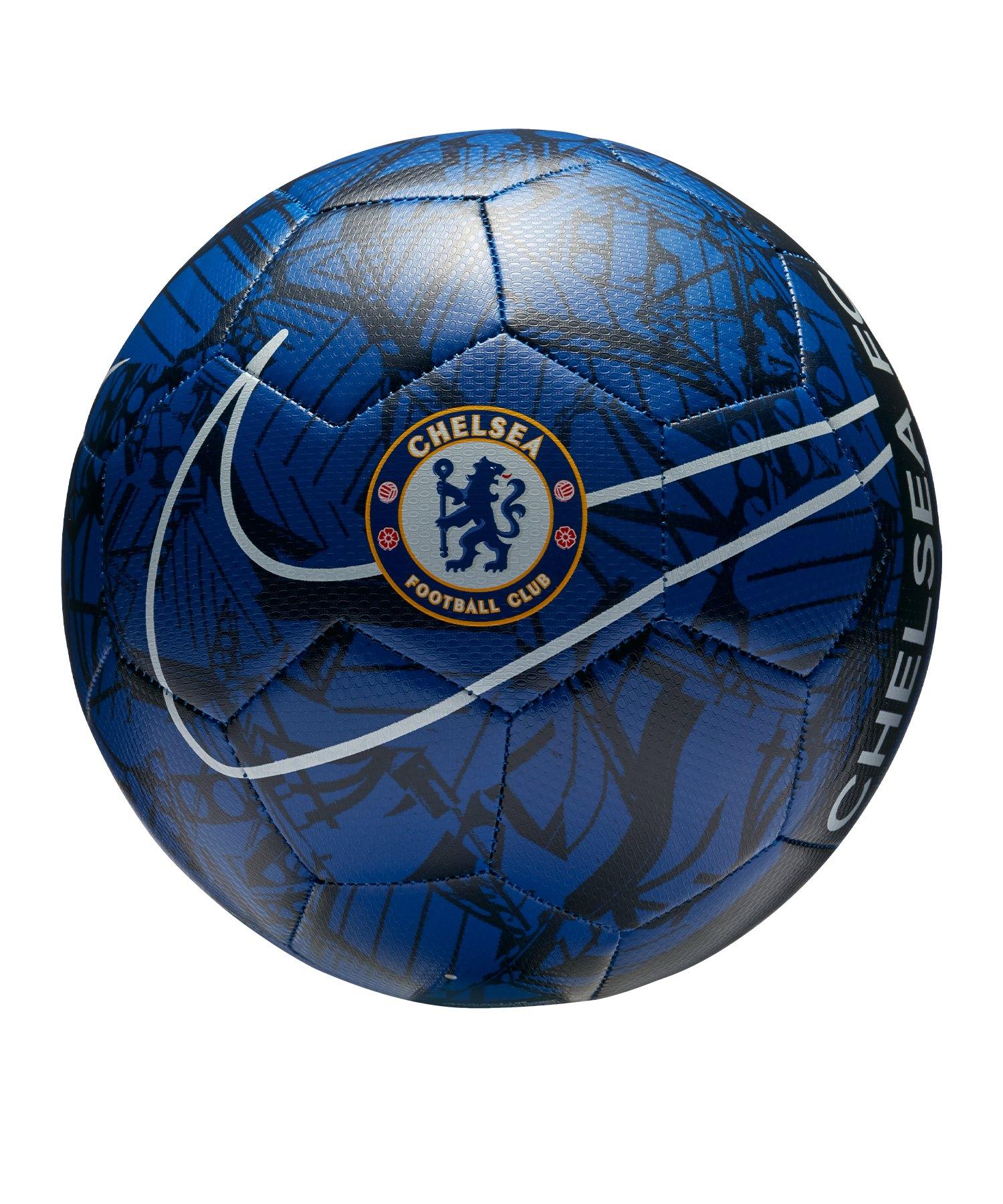 Nike FC Chelsea London Trainingsball Blau F495 - blau