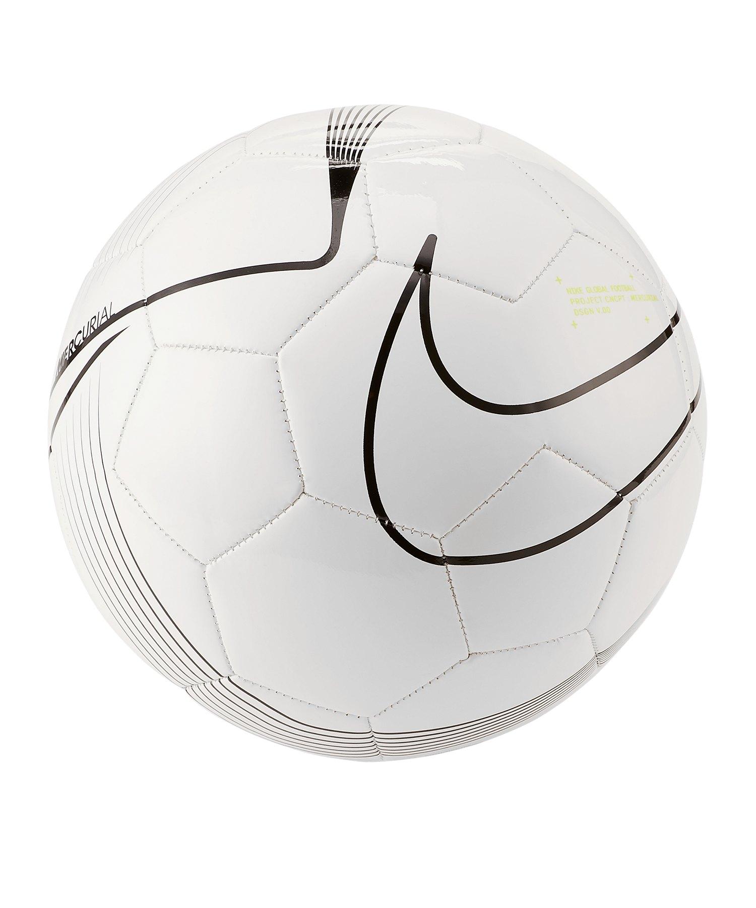 Nike Mercurial Fade Fussball Weiss F100 - weiss