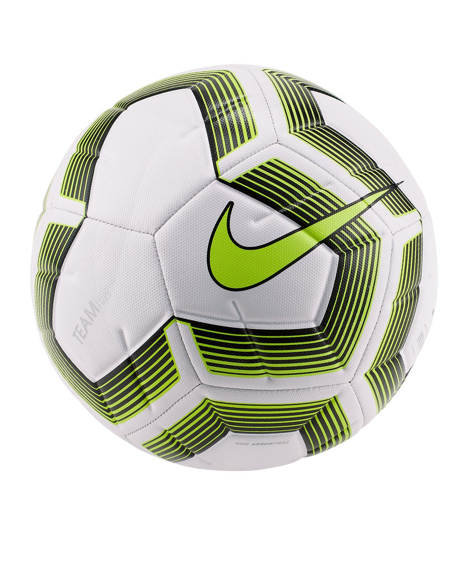 Nike Strike Pro Trainingsball Weiss F100 - weiss