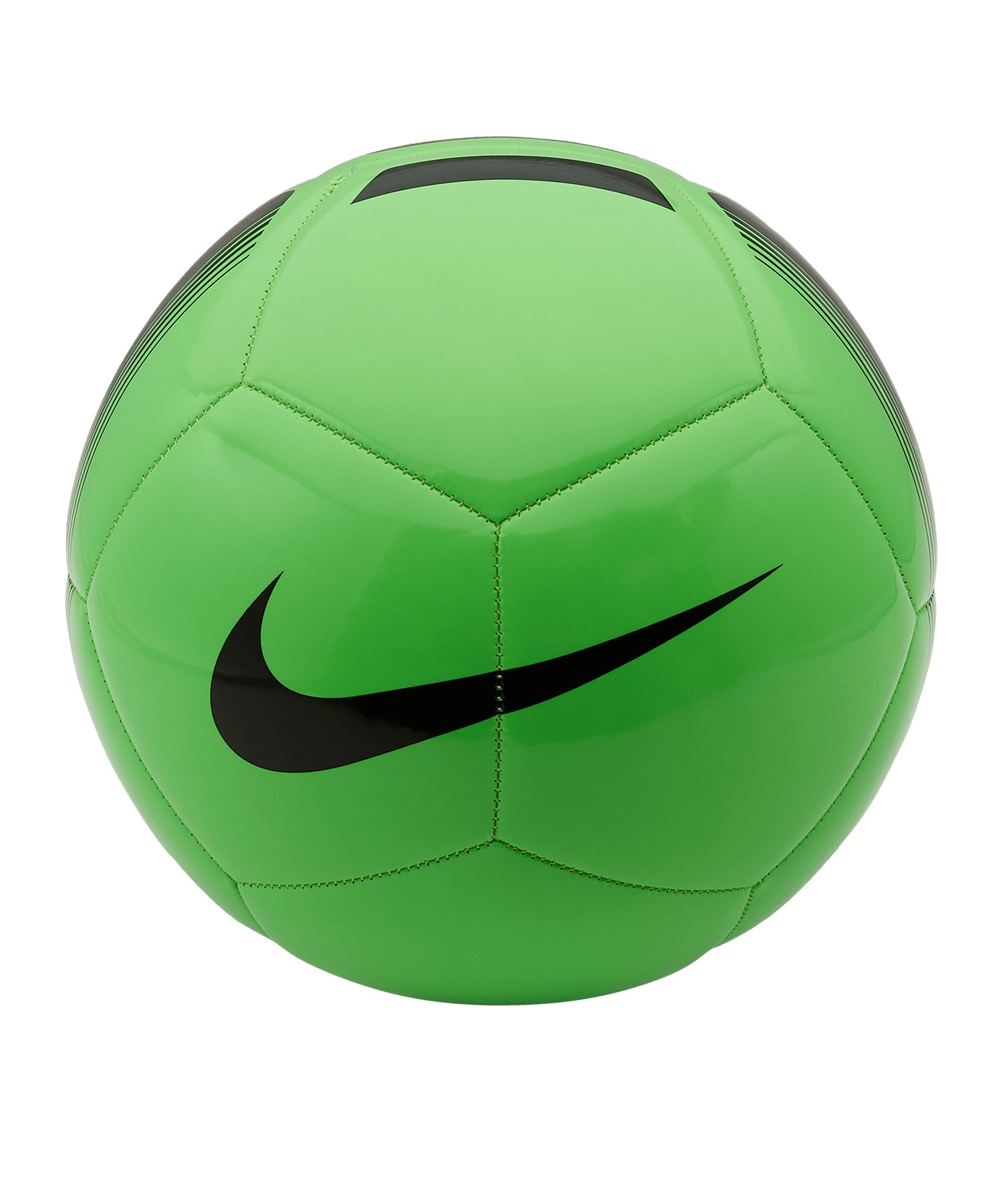 Nike Pitch Team Trainingsball Grün F398 - gruen