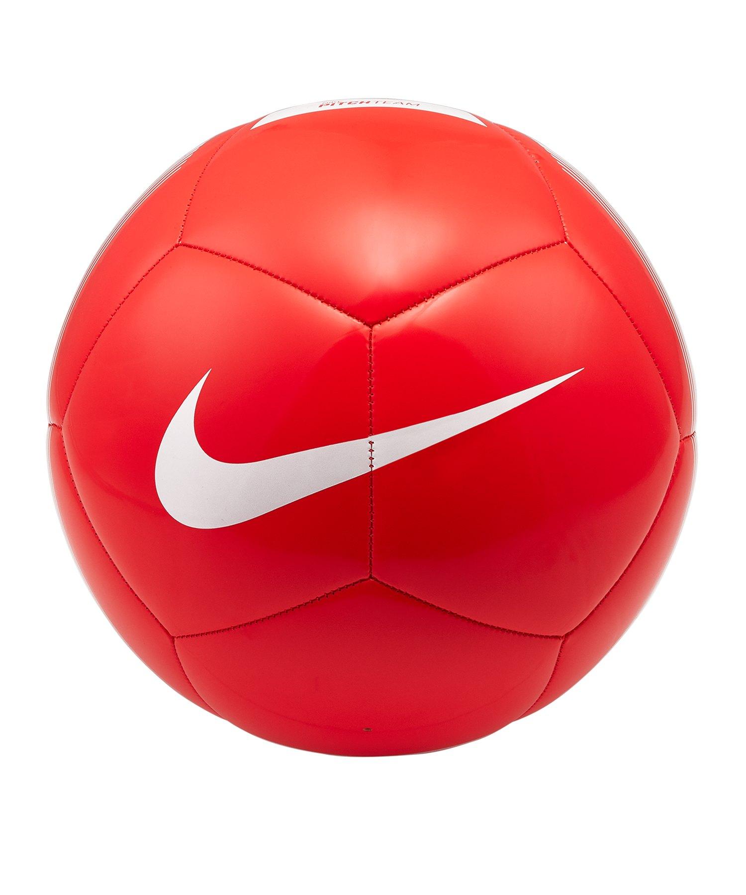 Nike Pitch Team Trainingsball Rot F610 - rot