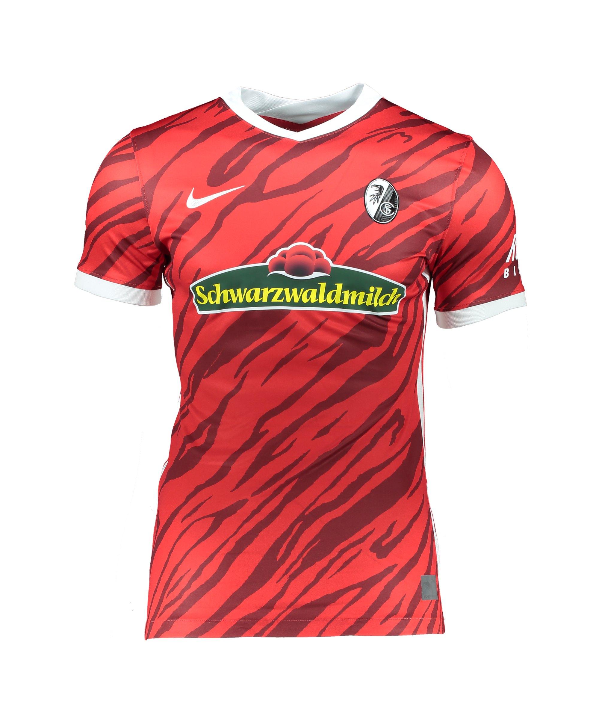 Nike SC Freiburg Trikot Home Match Fit 2021/2022 Rot F657 - rot