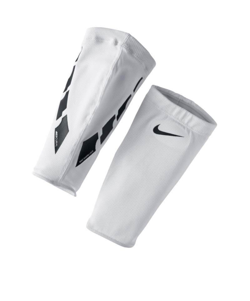 Nike Stutzenhalter Guard Lock Elite Sleeves Weiss F103 - weiss