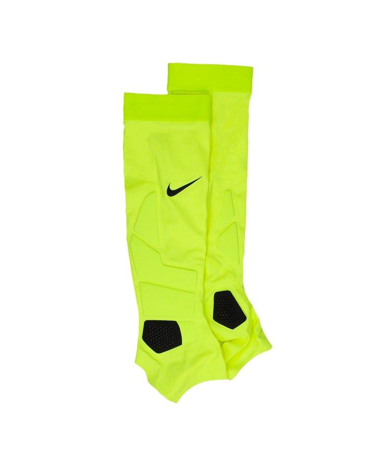 Nike Hyperstrong Match Sleeves Stutzenstrumpf F702 - gelb