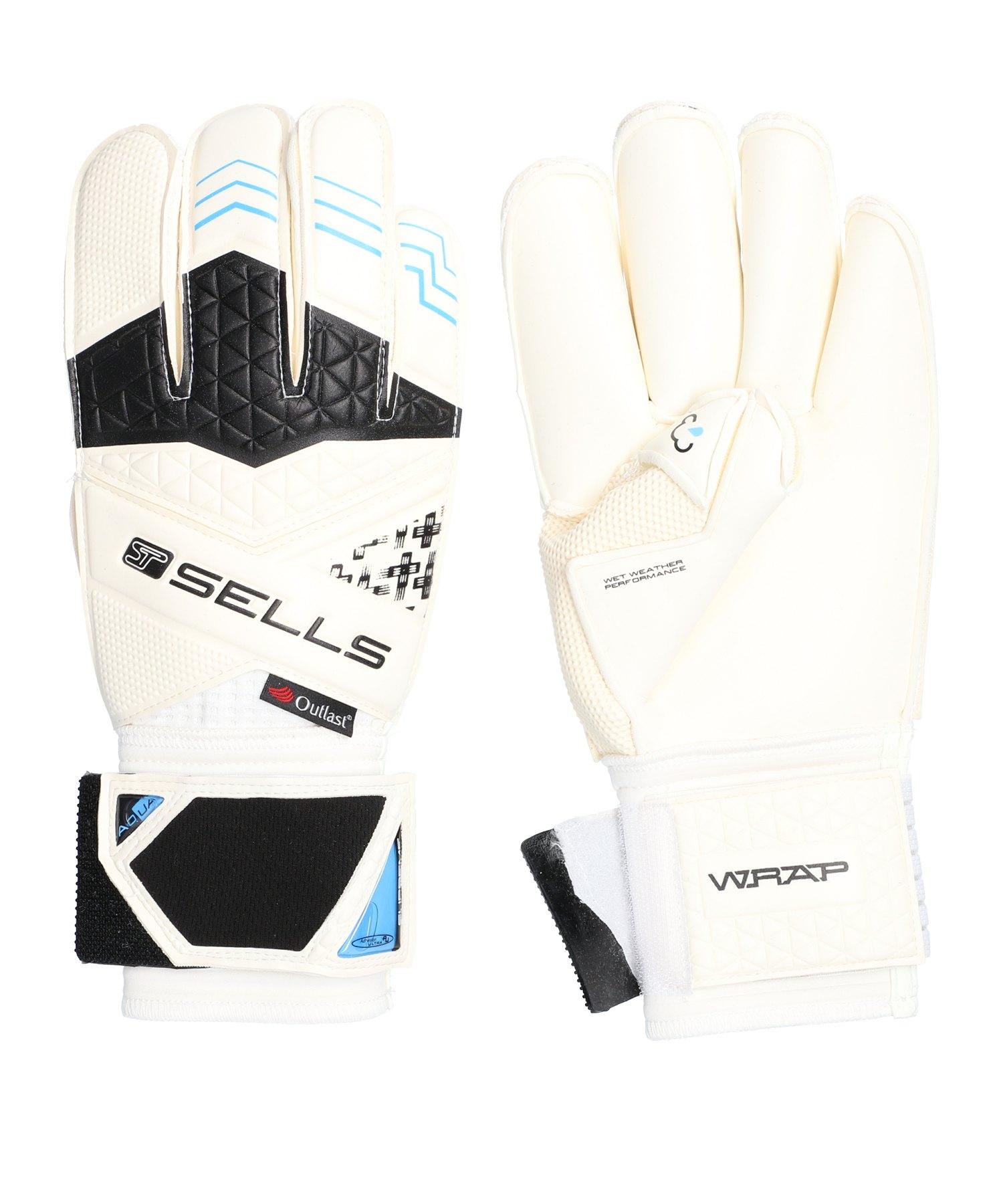 Sells Wrap Elite Aqua Campione TW-Handschuh Weiss - weiss