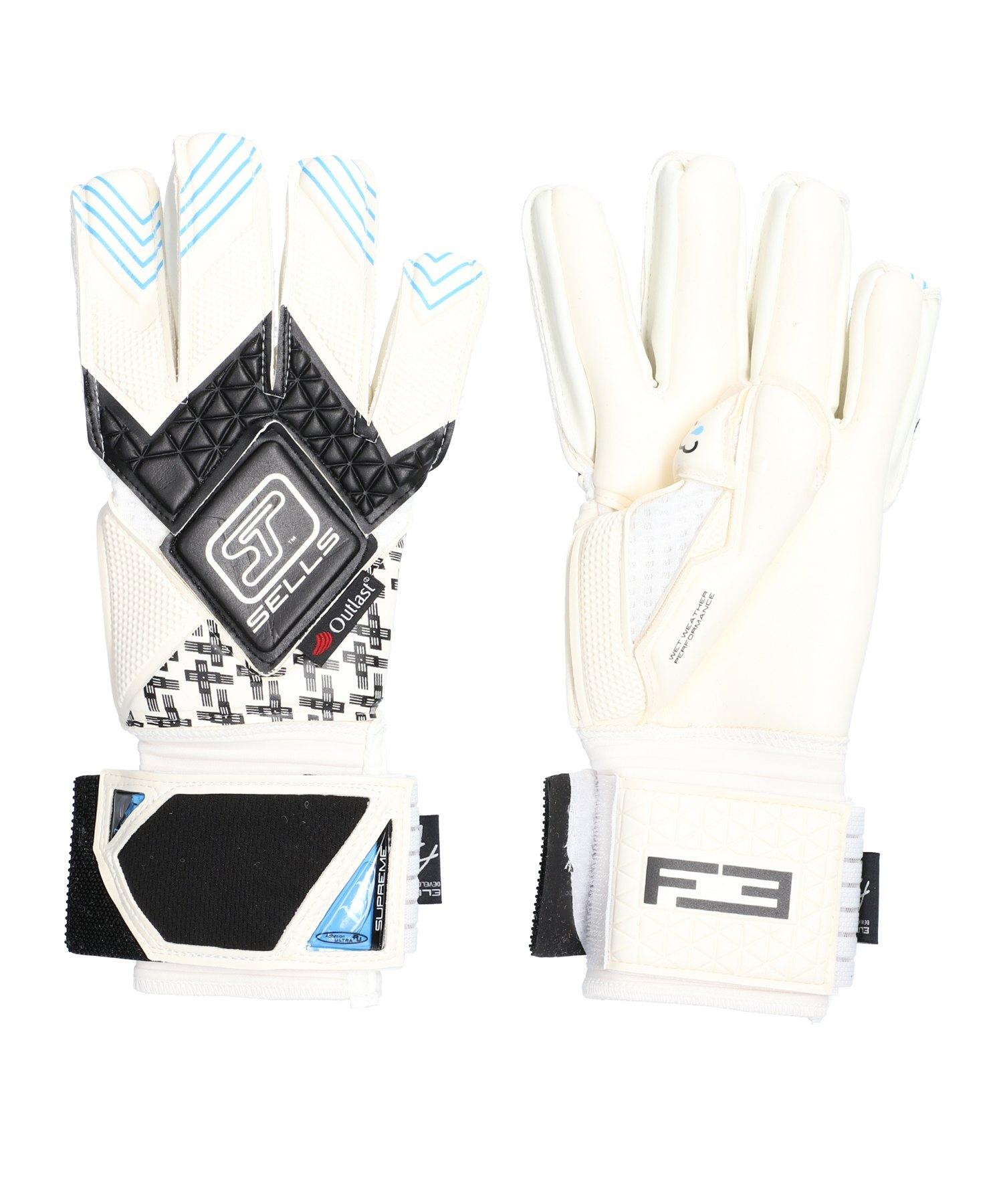 Sells F3 Elite Aqua Campione TW-Handschuh Weiss - weiss