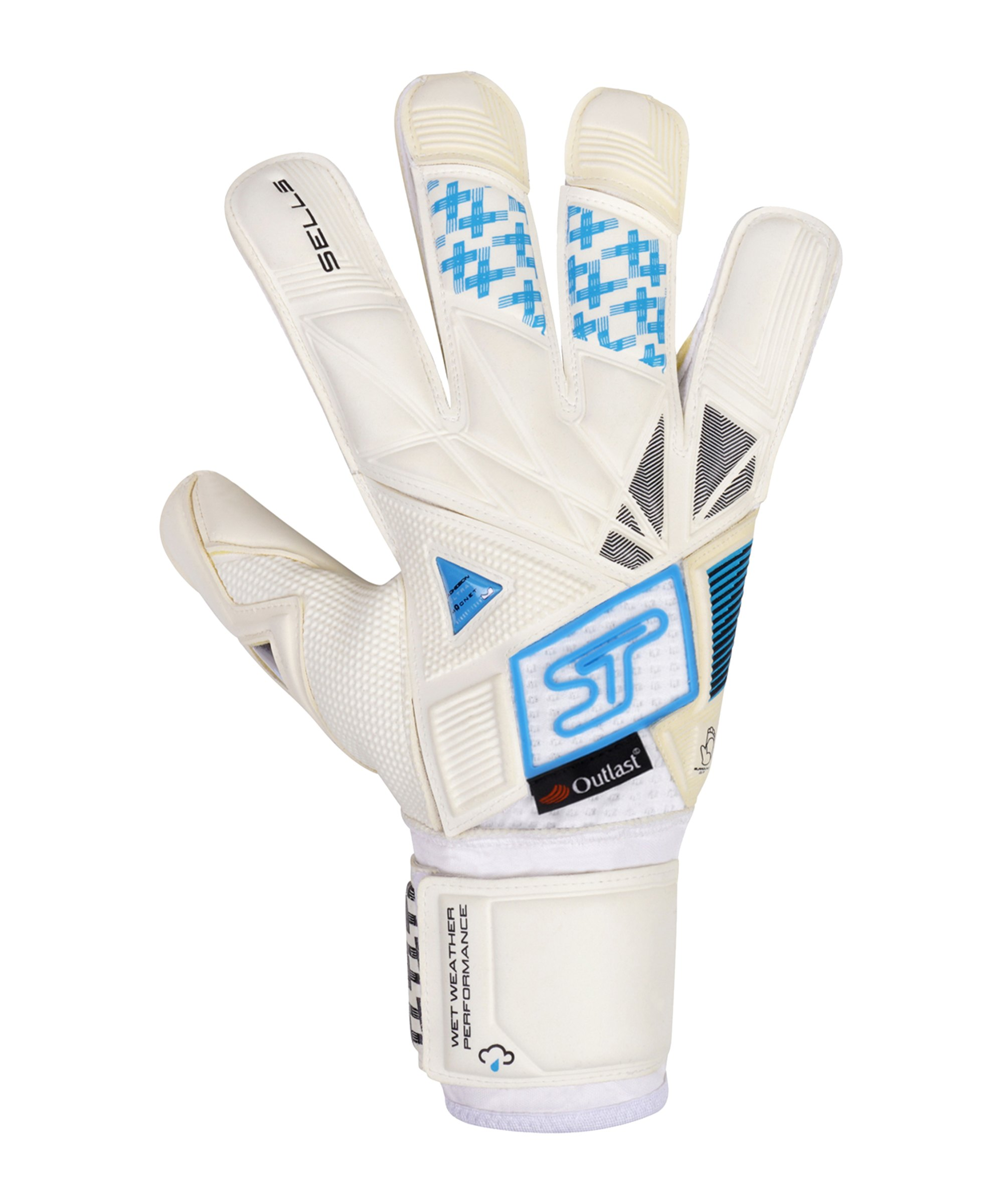 Sells Revolve Ultimate TW-Handschuh Weiss Schwarz Blau - weiss