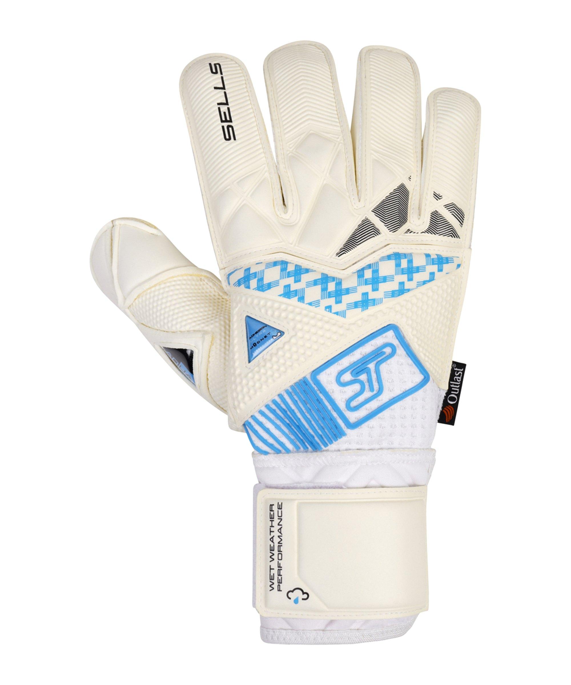 Sells Wrap Ultimate TW-Handschuh Weiss Schwarz Blau - weiss