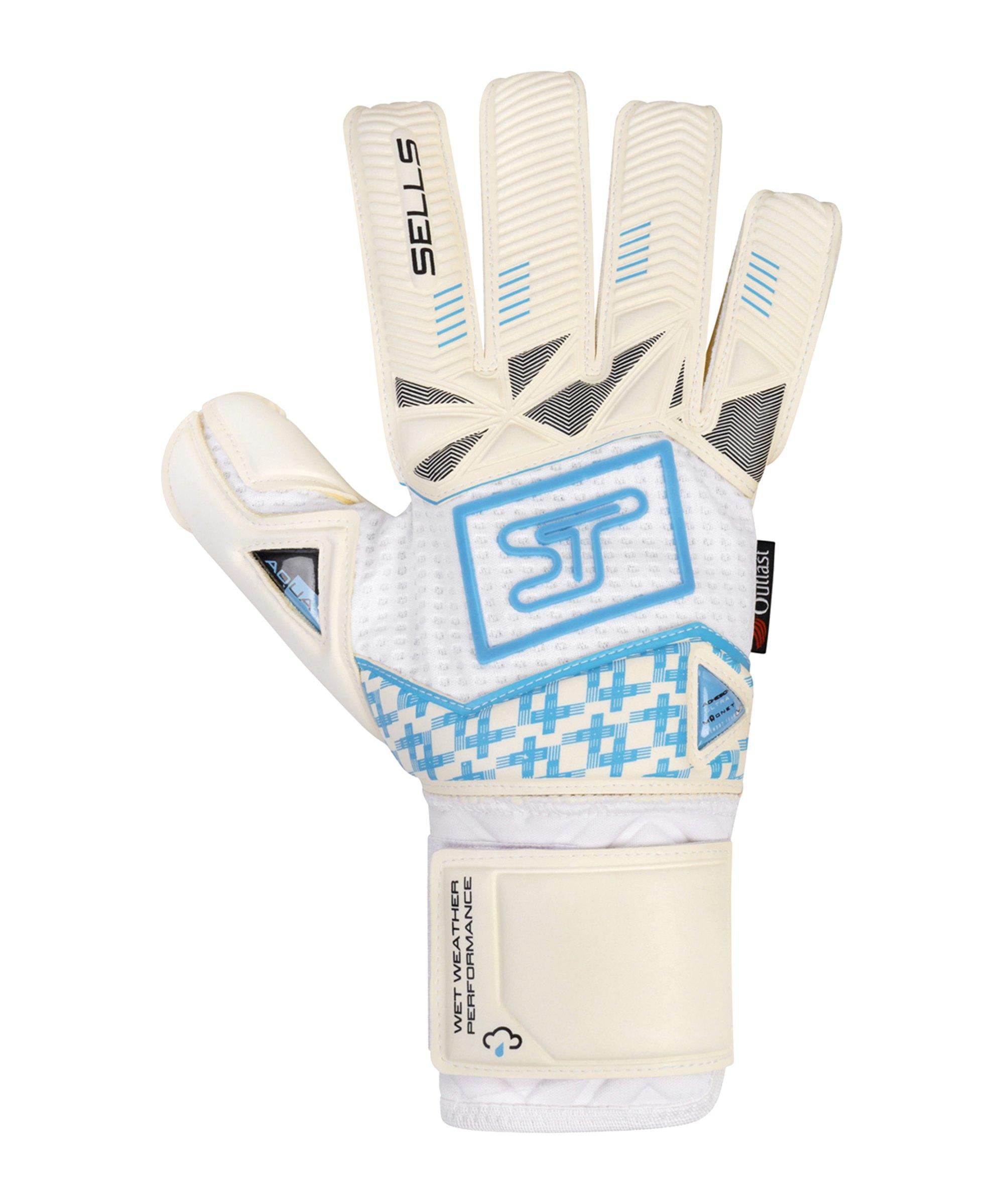 Sells F3 Aqua Ultimate TW-Handschuh Weiss Schwarz Blau - weiss