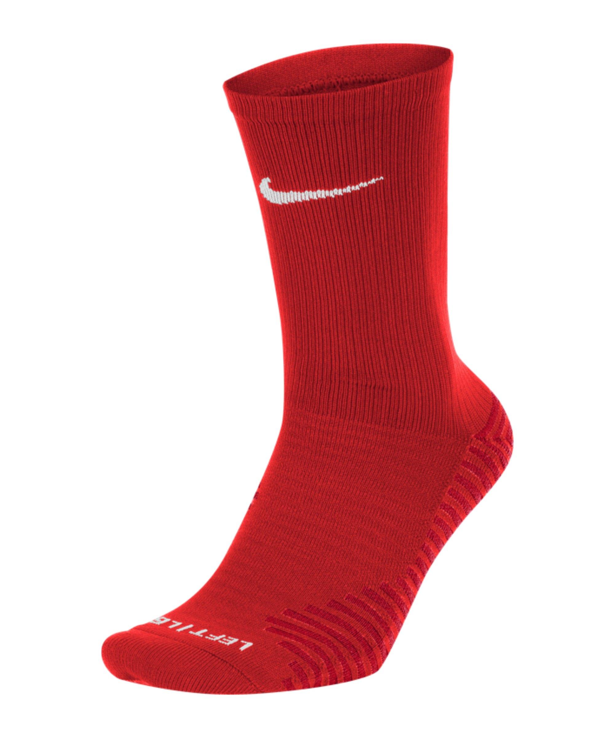 Nike Squad Crew Socken Rot F657 - rot