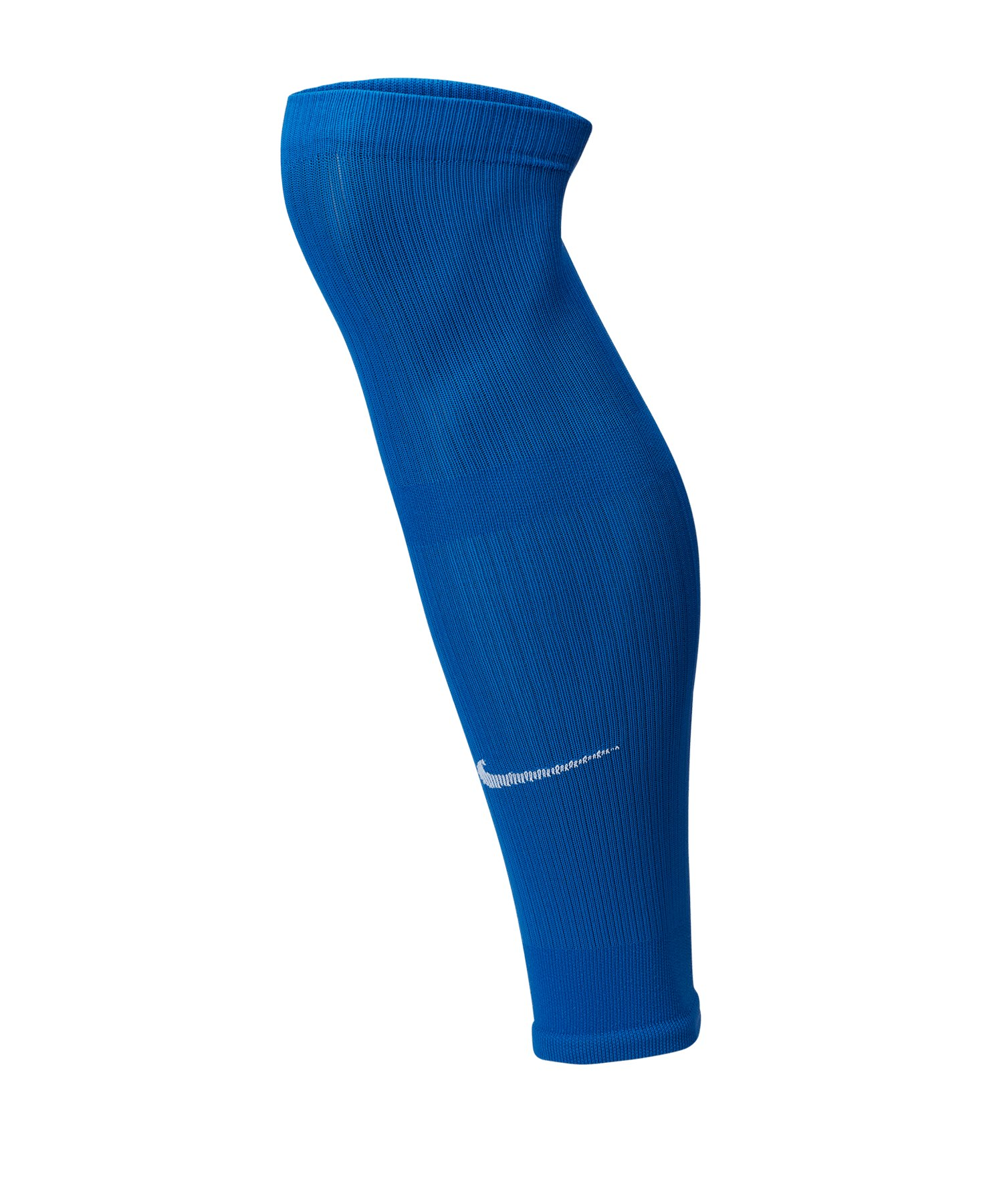 Nike Squad Fussball Leg Sleeves Blau F463 - blau