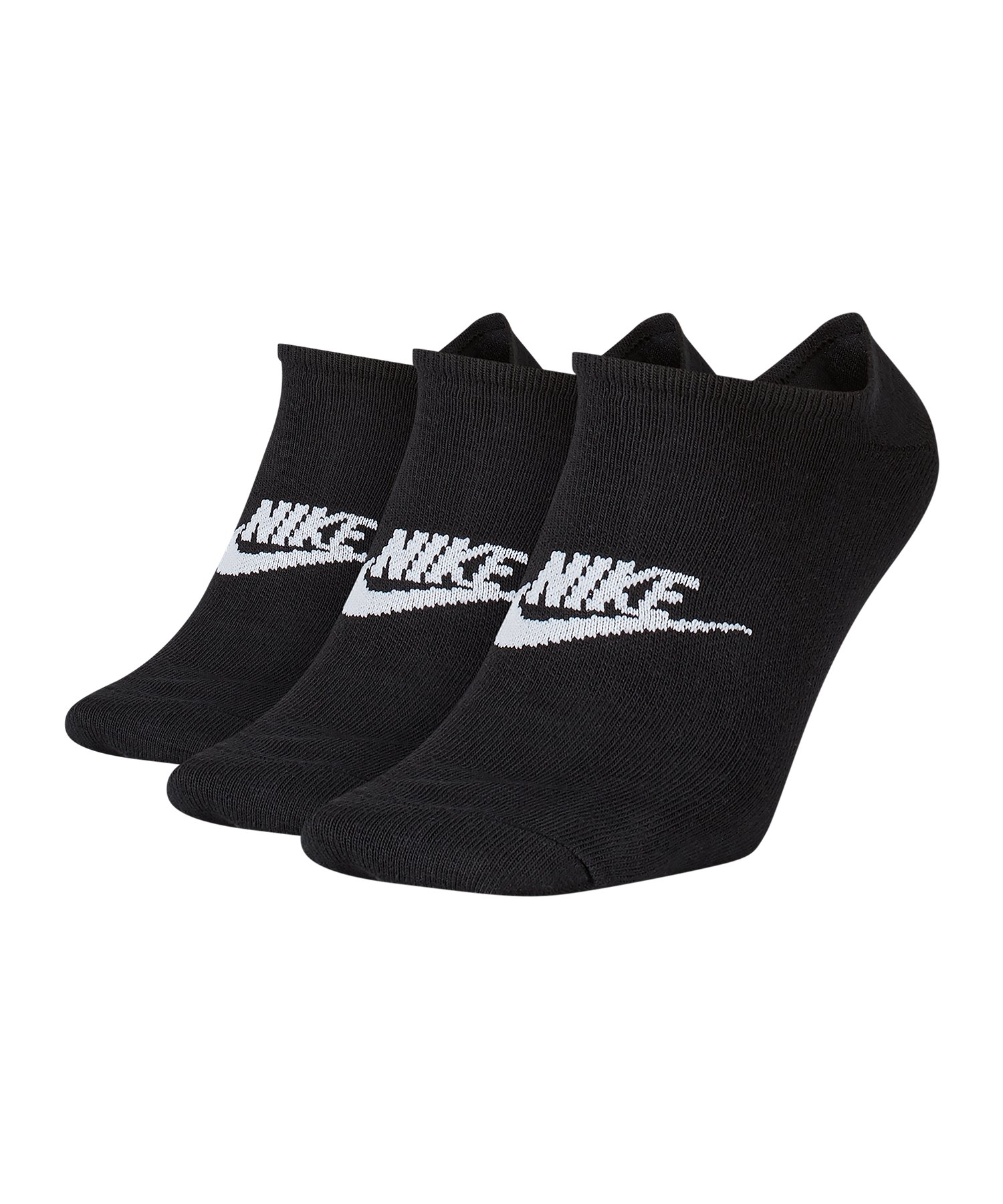 Nike Everyday Essential Füsslinge 3er Pack F010 - schwarz
