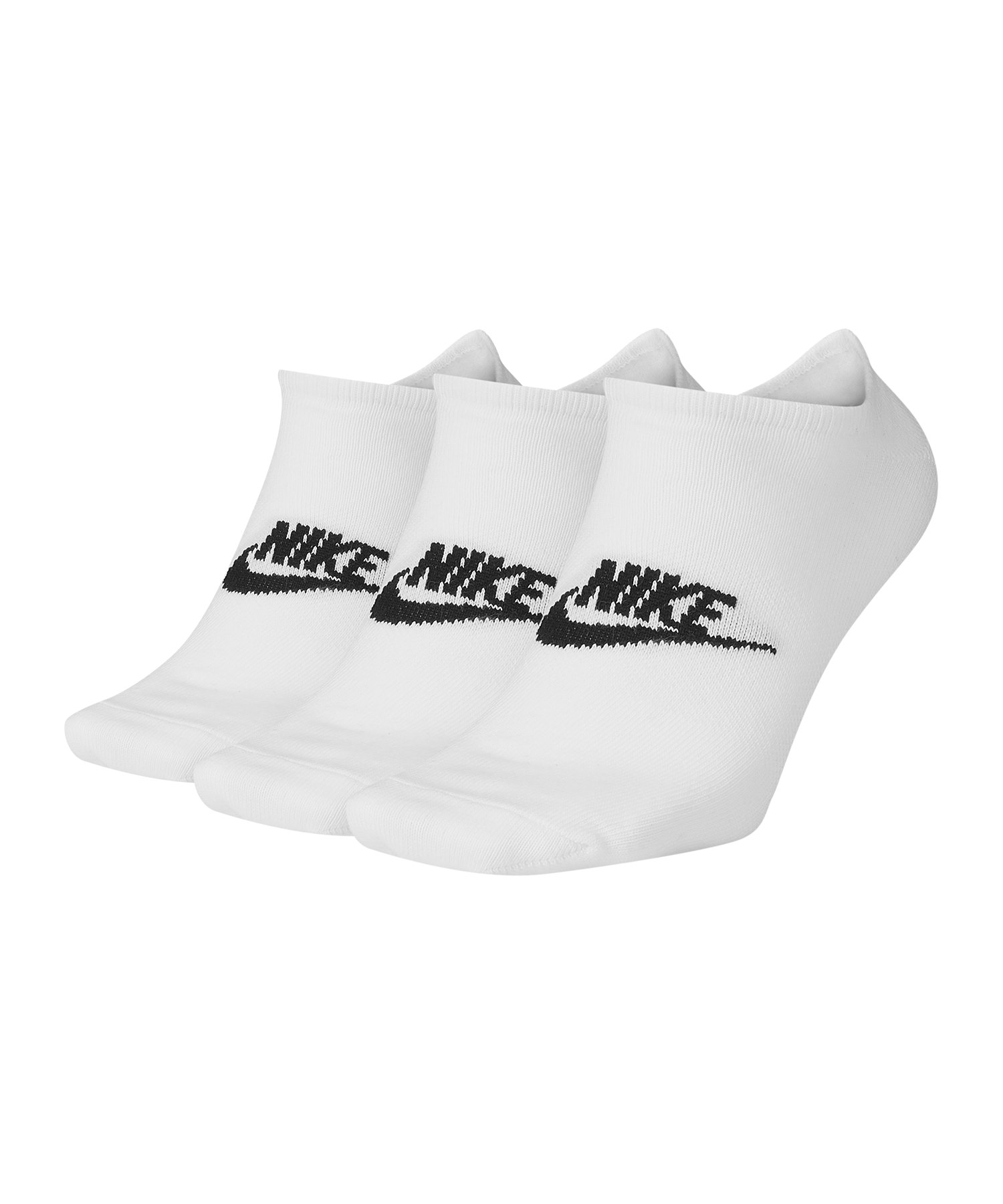 Nike Everyday Essential Füsslinge 3er Pack F100 - weiss