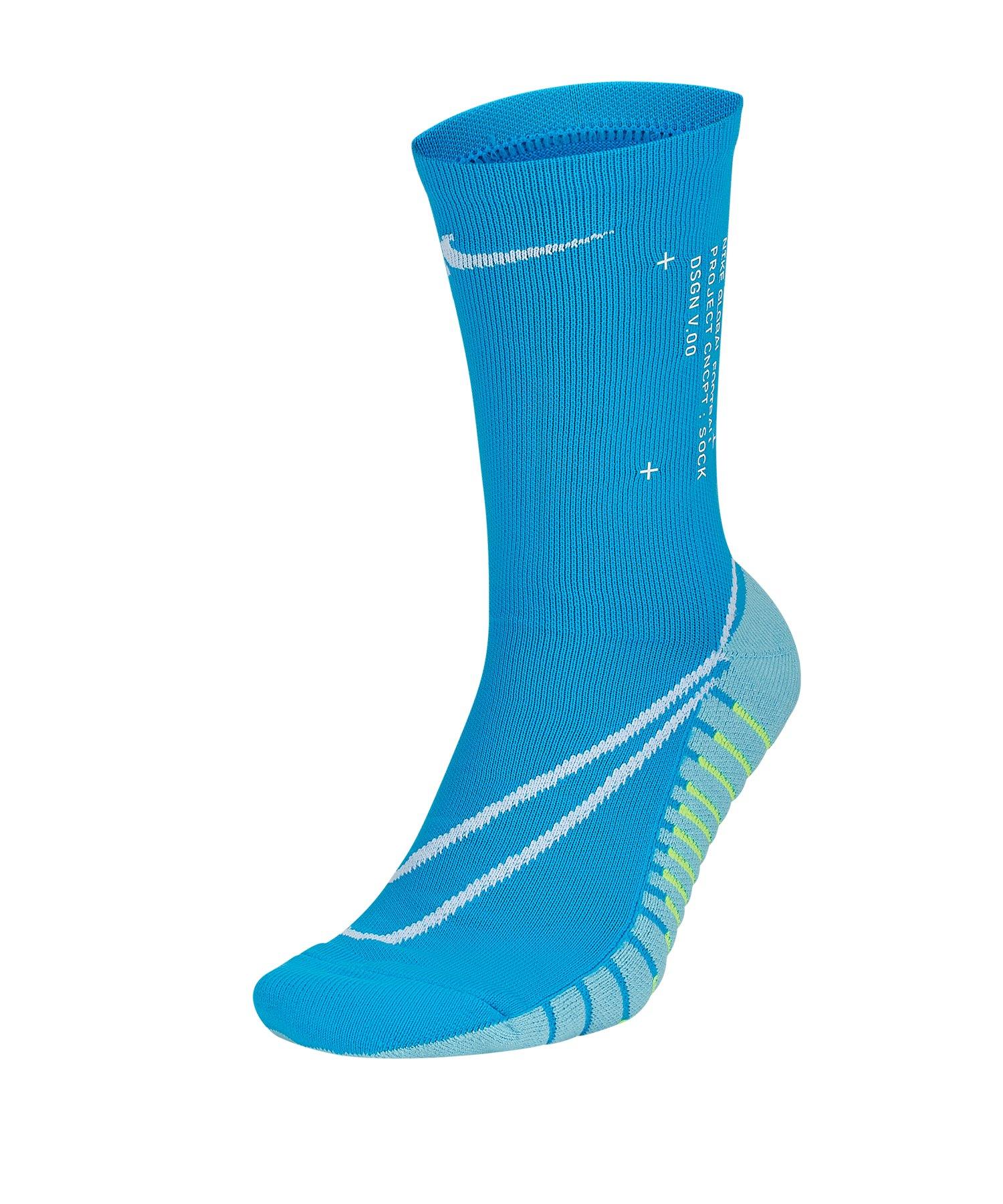 Nike Squad Crew Canvas Socken Blau F430 - blau