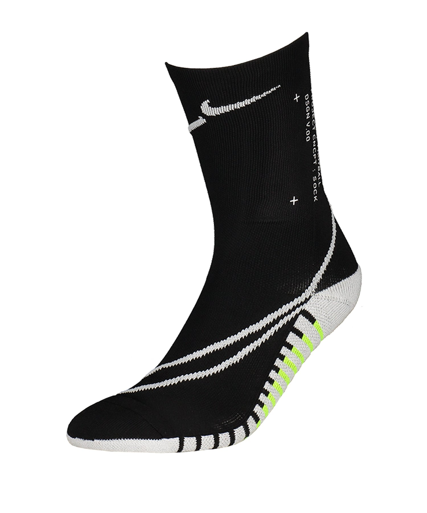 Nike Squad Crew Canvas Socken Schwarz F010 - schwarz