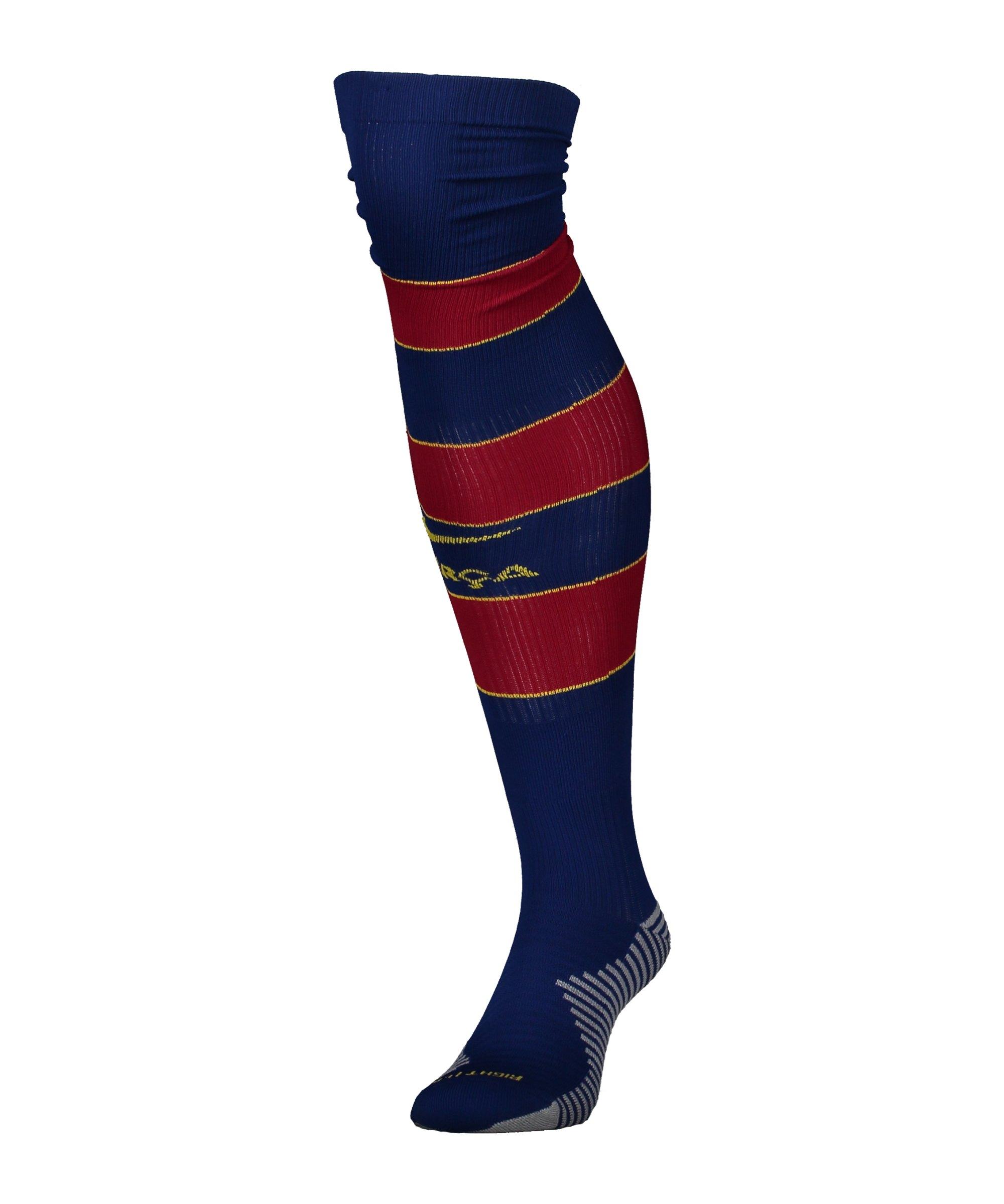 Nike FC Barcelona Stutzen Home 2020/2021 F456 - blau