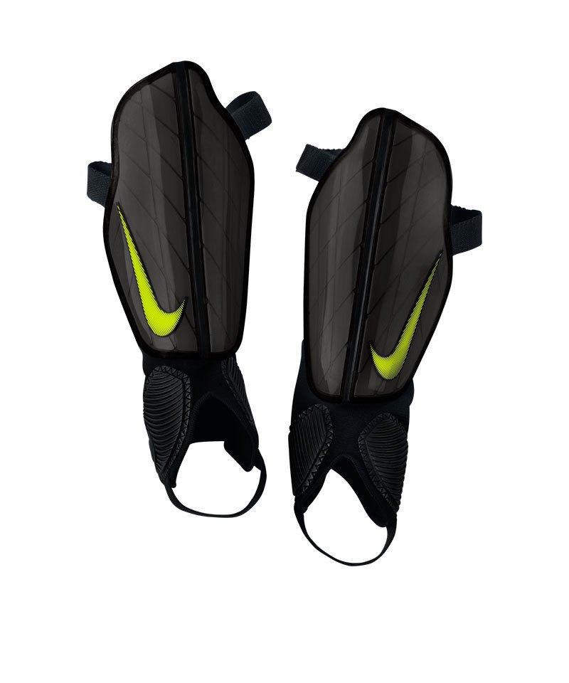 Nike Schienbeinschoner Attack Stadium Gelb F702 - schwarz