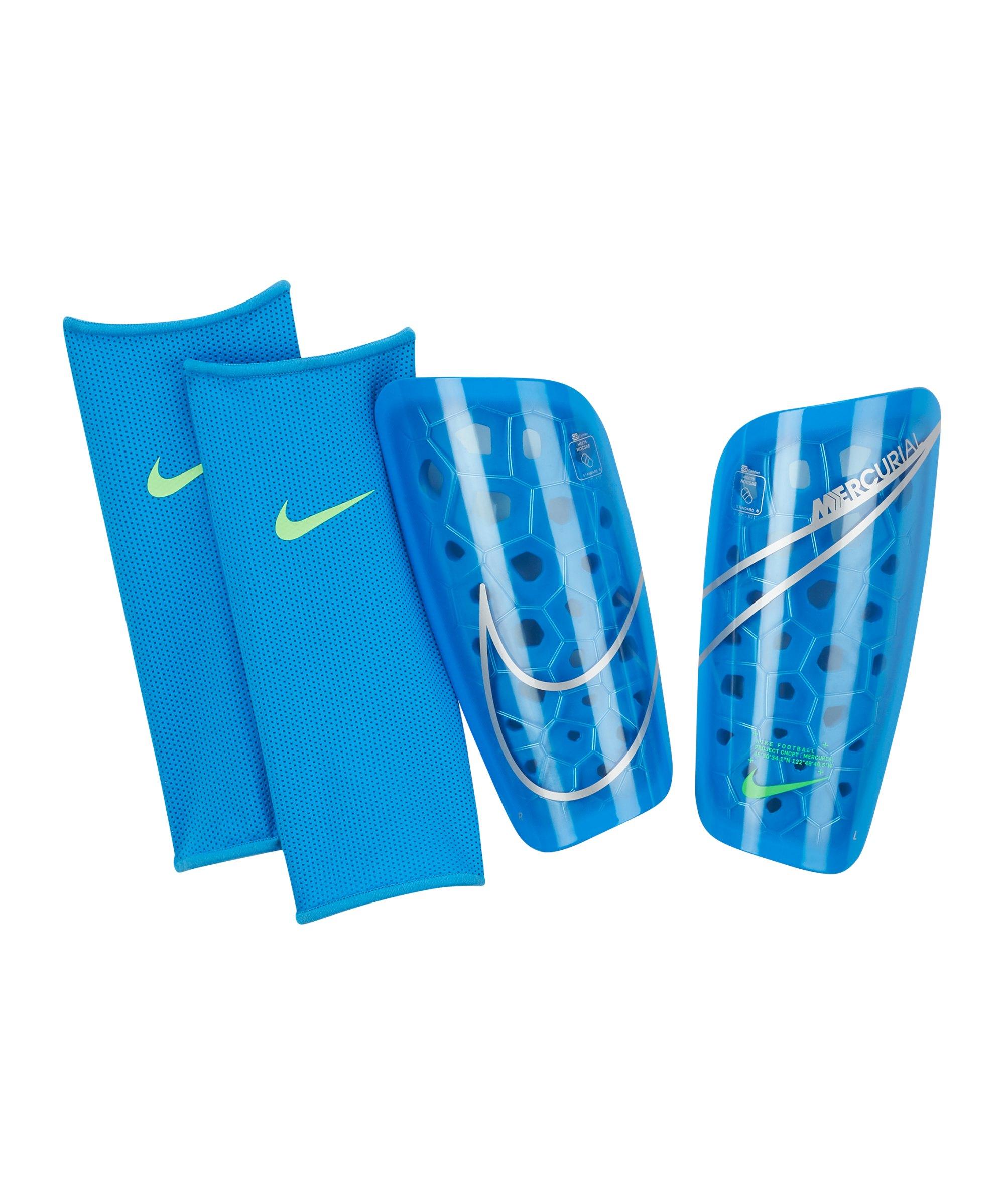 Nike Mercurial Lite Schienbeinschoner Blau F406 - blau