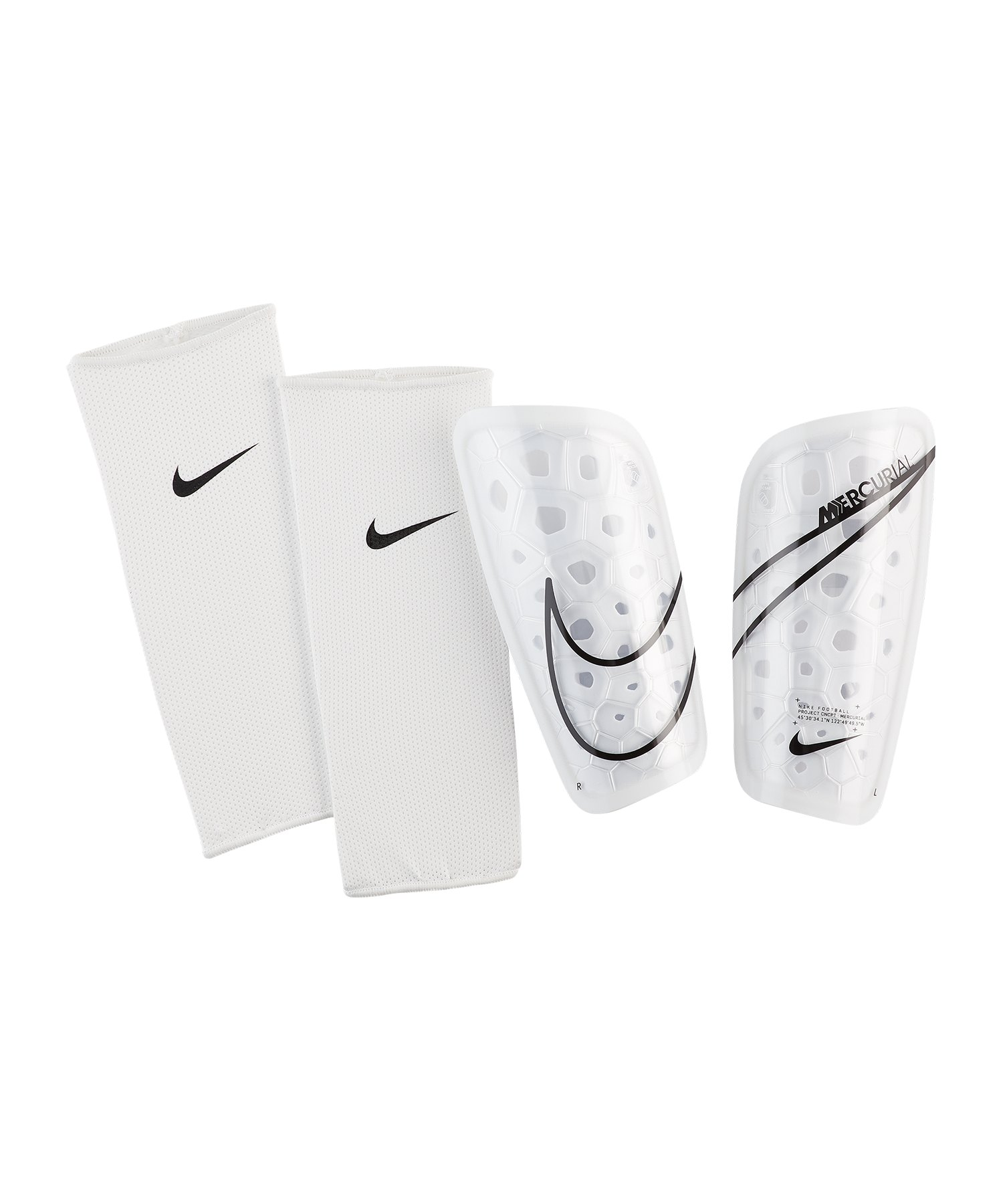 Nike Mercurial Lite Schienbeinschoner F104 - weiss