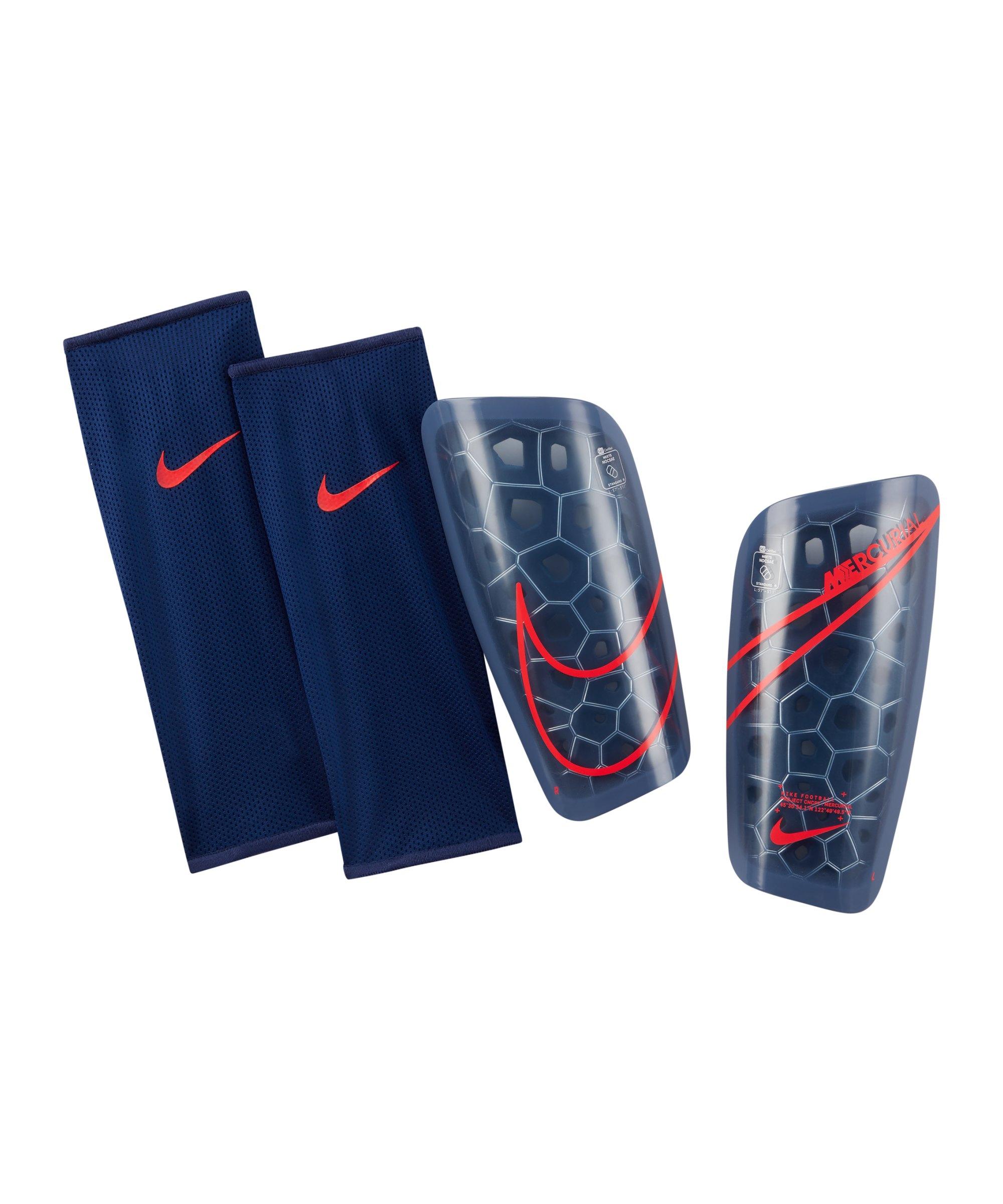 Nike Mercurial Lite Schienbeinschoner F430 - blau