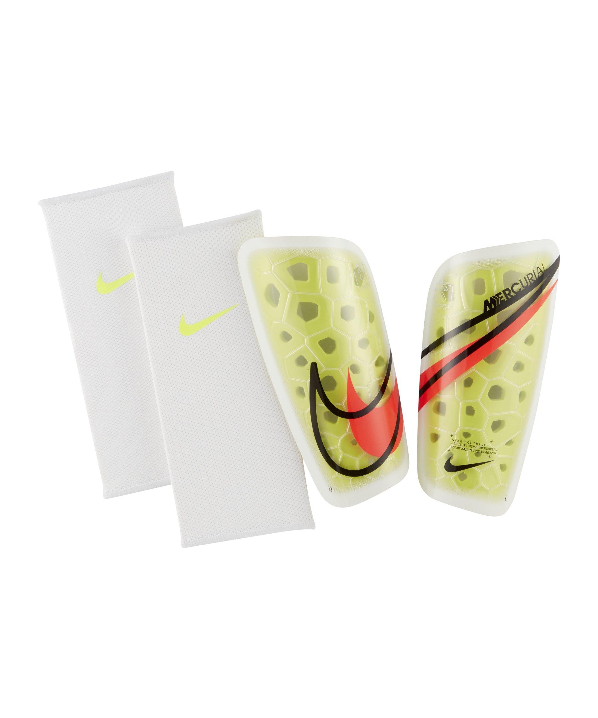 Nike Mercurial Lite Schienbeinschoner Gelb F705 - gelb