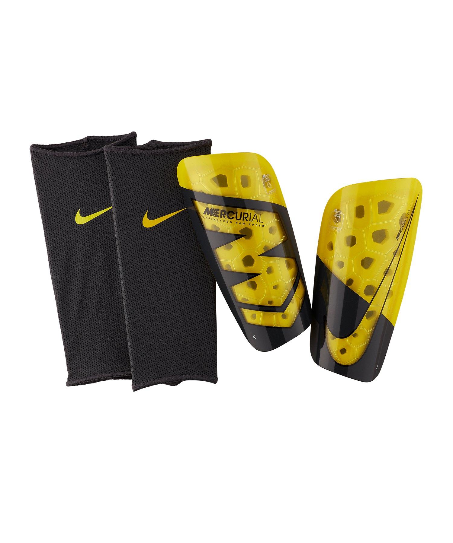 Nike Mercurial Lite Schienbeinschoner Gelb F731 - gelb