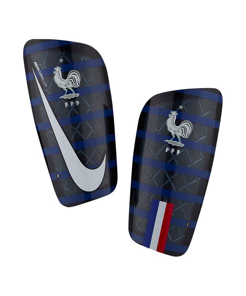 Nike Frankreich Schienbeinschoner Blau F451 - blau